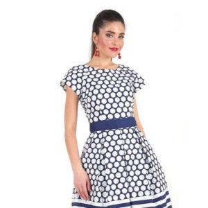 1001 7027 300x300 - Платье средней длины из хлопка 1001-7027