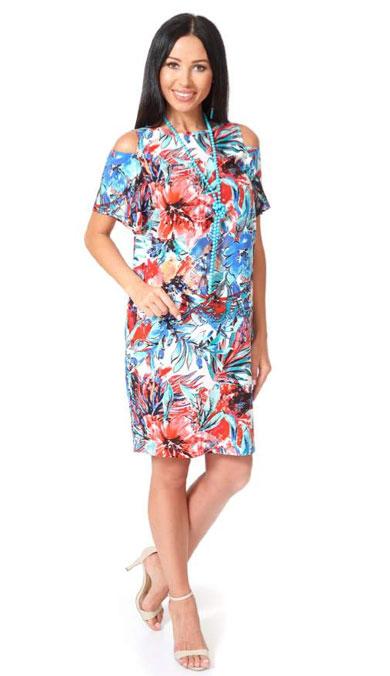 1001 7068 1 1 - Платье из хлопка 1001-7068-1