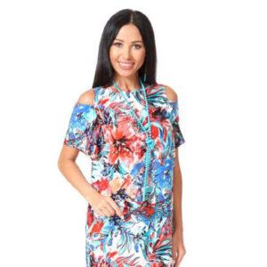 1001 7068 1 300x300 - Платье из хлопка 1001-7068-1
