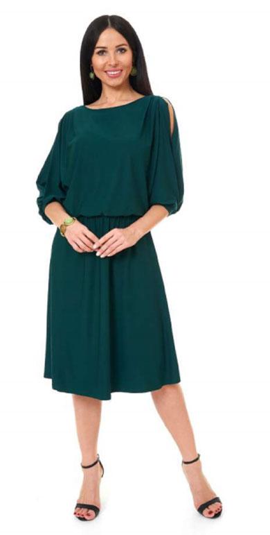 1001 8008 1 2 - Платье из трикотажного полотна 1001-8008-1