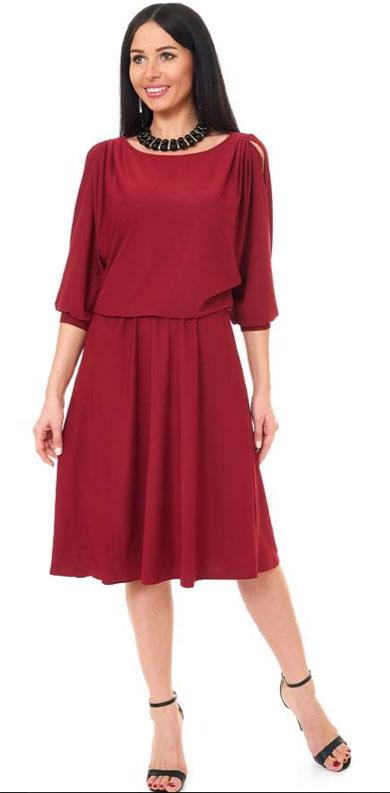 1001 8008 2 - Платье из трикотажного полотна 1001-8008