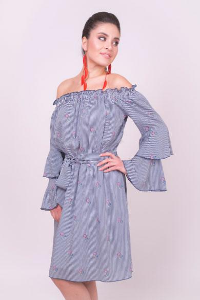 1001 8038 1 - Платье из вискозы 1001-8038