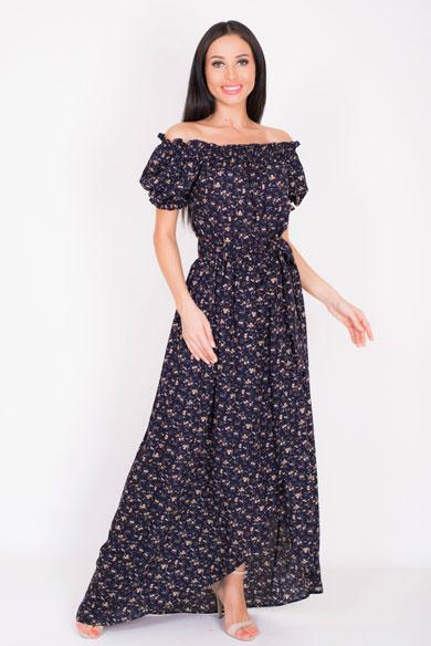 1001 8045 1 1 - Платье из штапеля 1001-8045-1