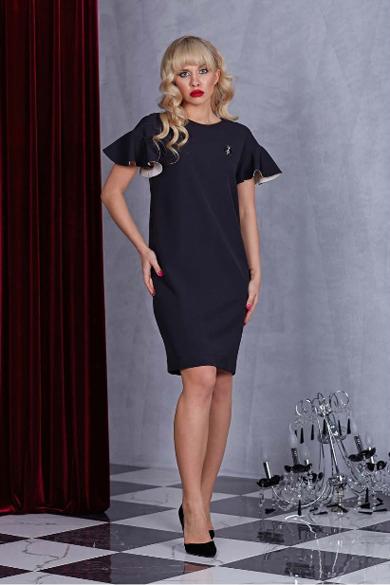 63221 1 - Черное платье 63221