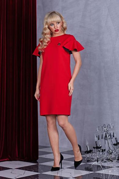 Красное платье 63222