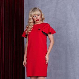 63222 300x300 - Красное платье 63222