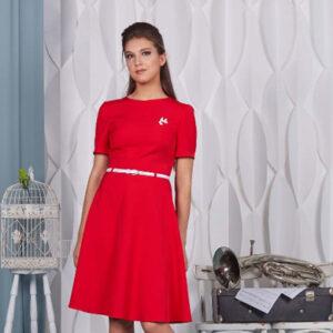 65011 300x300 - Красное платье 65011