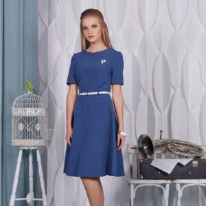 65017 300x300 - Платье 65017 синее