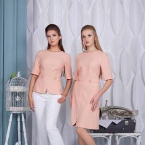 74401 300x300 - Платье 74401 персикового цвета