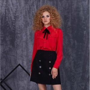Блуза 85302 красная