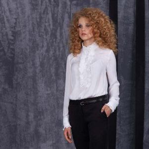 Блуза 85801 белая