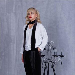 Блуза 91501 белая