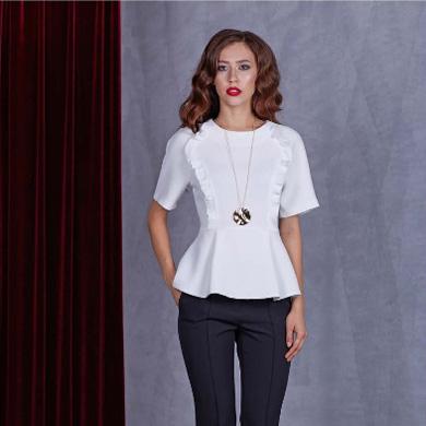 Блуза 92501 белая
