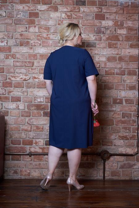 plate topsi sinij 3 - Платье Топси синее