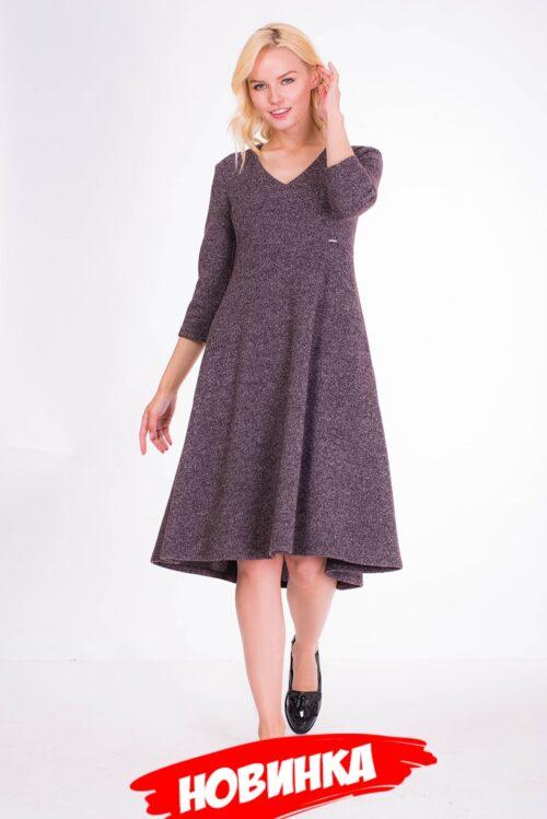 153389120190827121843 500x749 - Платье коричневое LV-VZD908729
