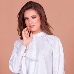 Блуза белая 27001