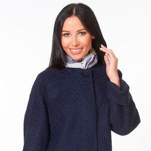 Пальто синее LV-AZWS7056