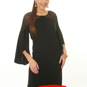 509348520181018090644 1 300x300 - Платье чёрное LV-LALDT8005