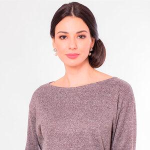 5415 300x300 - Блуза коричневая LV-AZBT8119