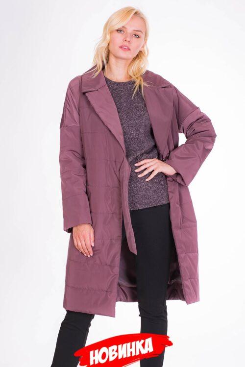 Пальто бордовое LV-VZU908110