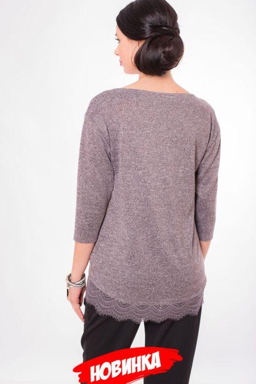 815065620181128111110 500x749 - Блуза коричневая LV-AZBT8119