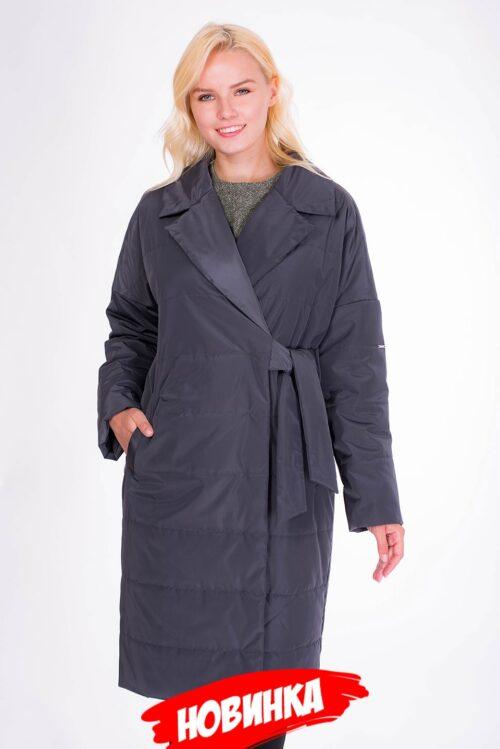 Пальто графитовое LV-VZU908131