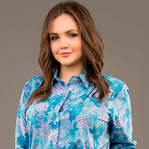 5582 300x300 - Блуза ТБ-13н розы на голубом