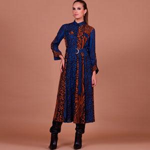 6542 300x300 - Платье 28611 принт синий леопард