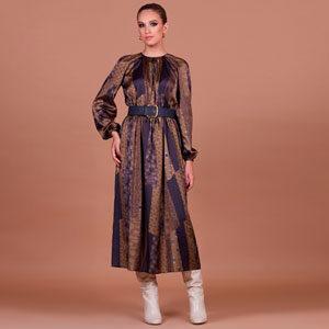 6560 300x300 - Платье 26003 принт коричневый