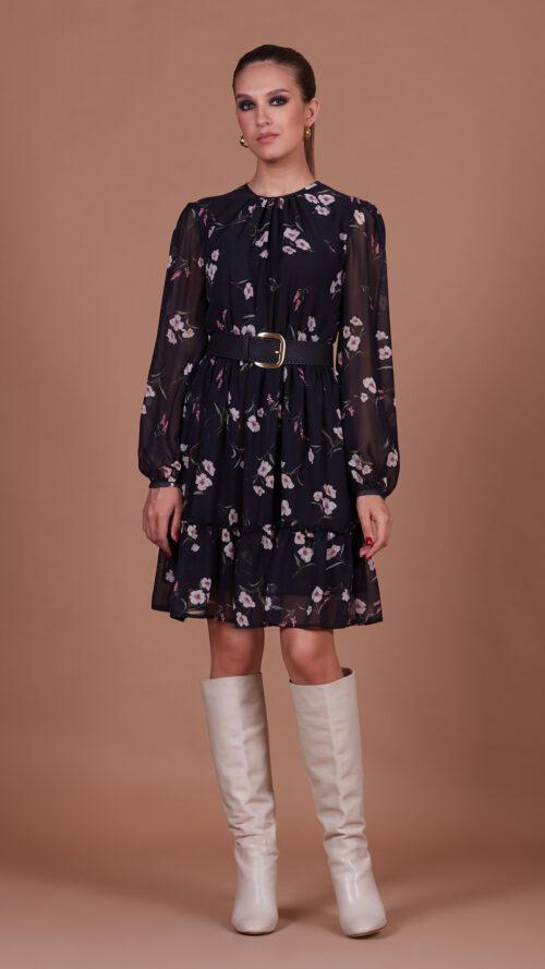 661b5d01098f046a1fd369df7bd6d723 500x889 - Платье 38302 принт цветок черный