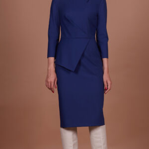 98244f0dca6814ca1dc288c80393884f 300x300 - Платье синее 19902