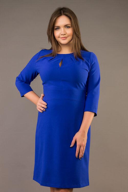 IMG 4708 500x750 - Платье А-113 василек