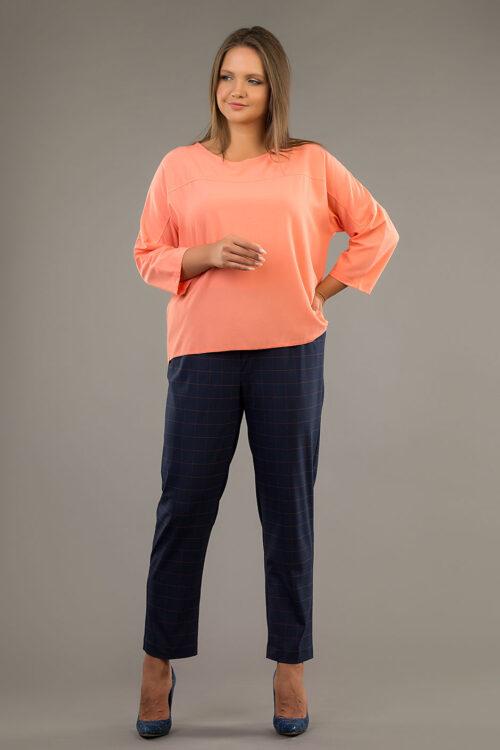 IMG 6369 500x750 - Блуза ТБ-003 цвета капучино