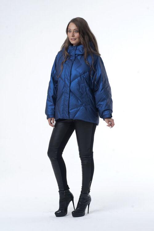 nik 0187 2 2 500x750 - Куртка 82062 изумрудный, синий, серо-розовый