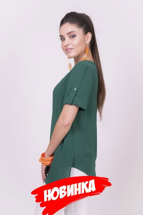 563236120181017201753 500x749 - Блуза зеленая