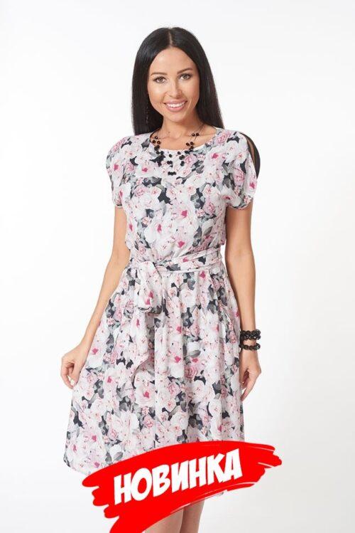 185341720181017205528 500x749 - Платье с цветочным принтом