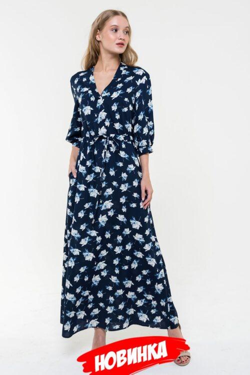 236031920200211175056 500x749 - Платье синее