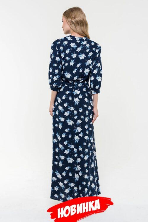 647055120200211175056 500x749 - Платье синее