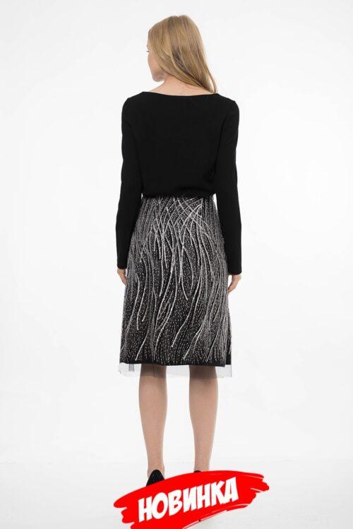 786135620191106215516 500x749 - Черная нарядная юбка