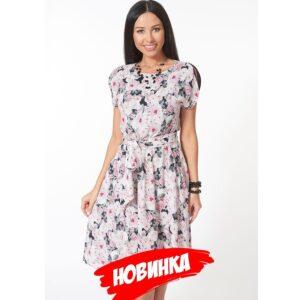bez imeni23 300x300 - Платье с цветочным принтом
